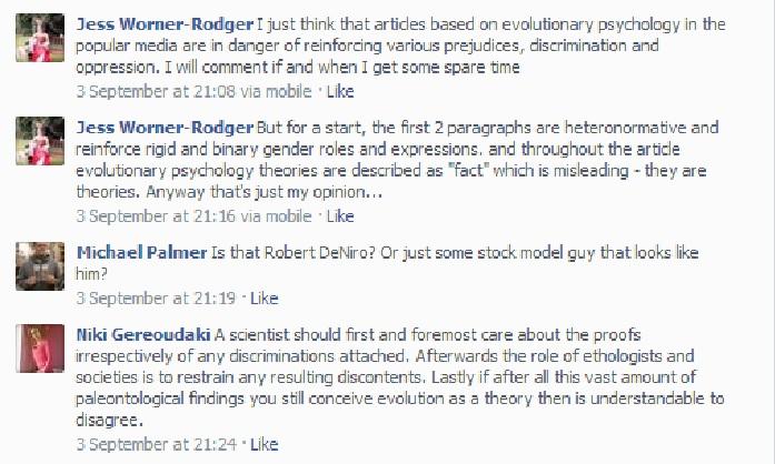 Essay review Evolutionary psychology �biology