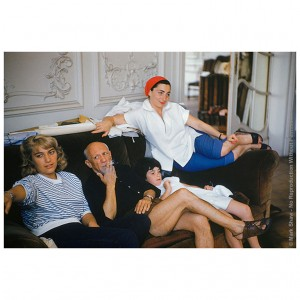 Picasso and His Women France 1950's
